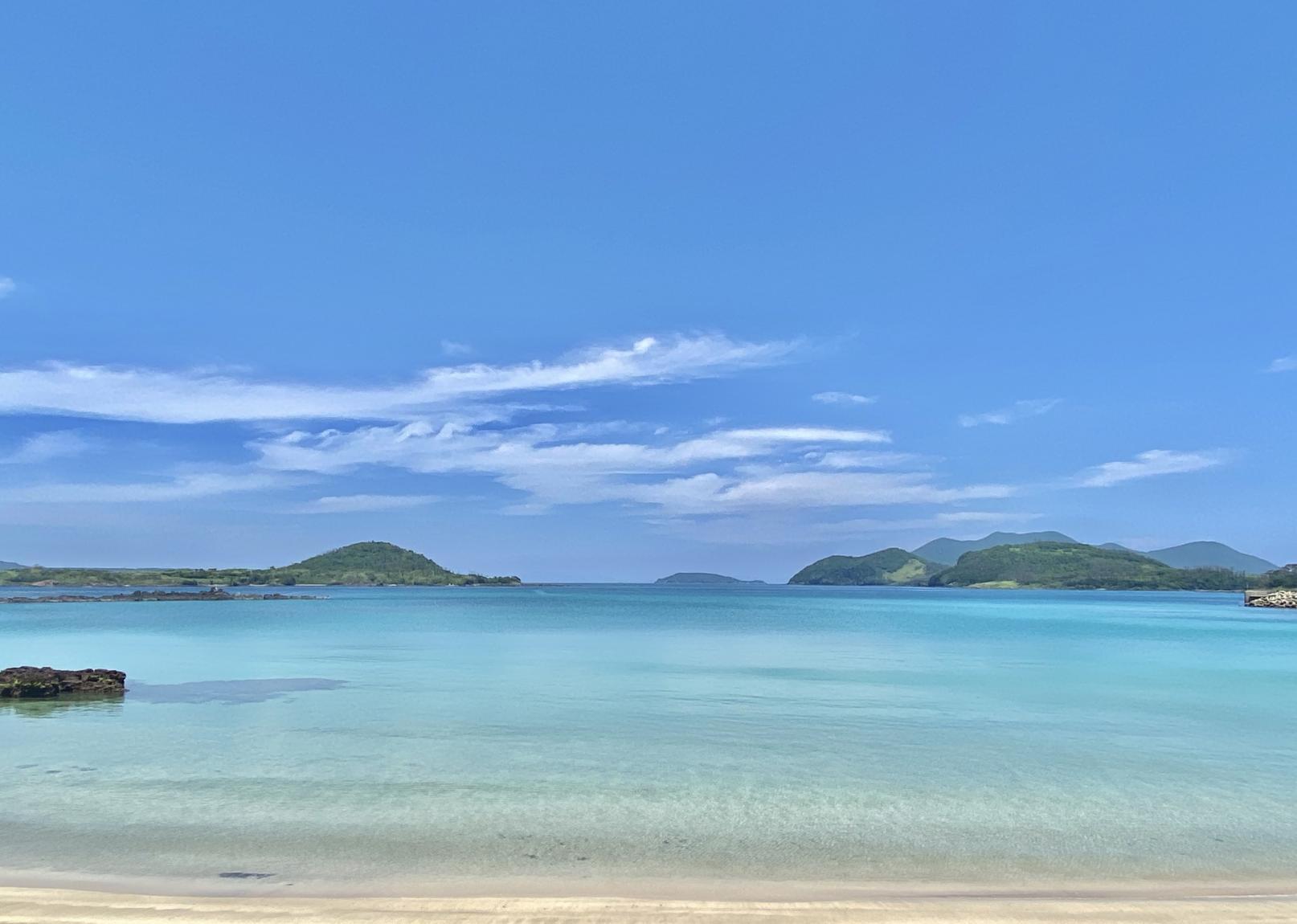 9.透き通る青、大自然のコントラストが美しいー小値賀の海ー-0