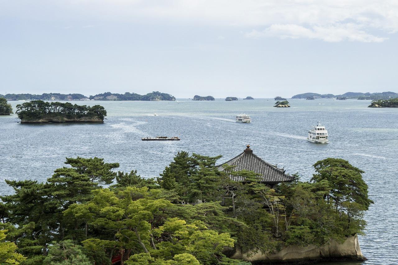 世界で最も美しい湾「松島湾」-1