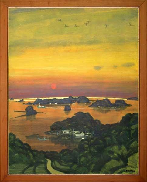 九十九島とアート-1