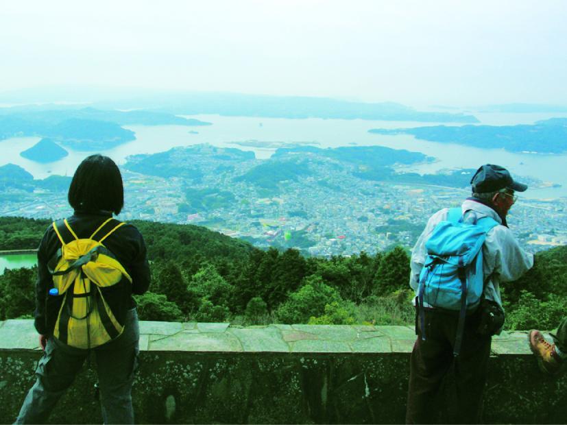 烏帽子岳登山口から隠居岳を越えて宇土越まで(させぼの歩き方:コース1)-1