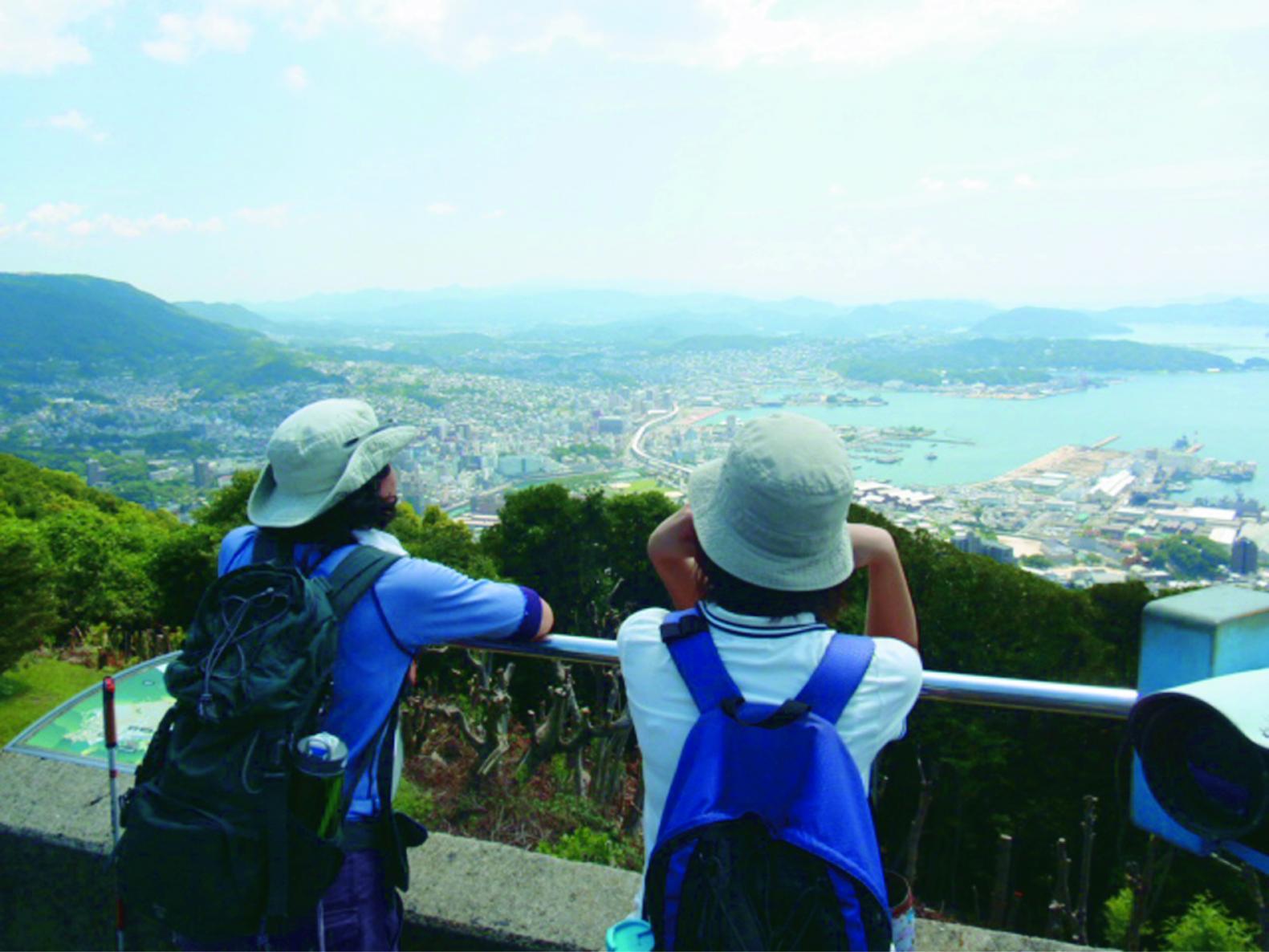 野中駅から将冠岳に登る(させぼの歩き方:コース3)-1