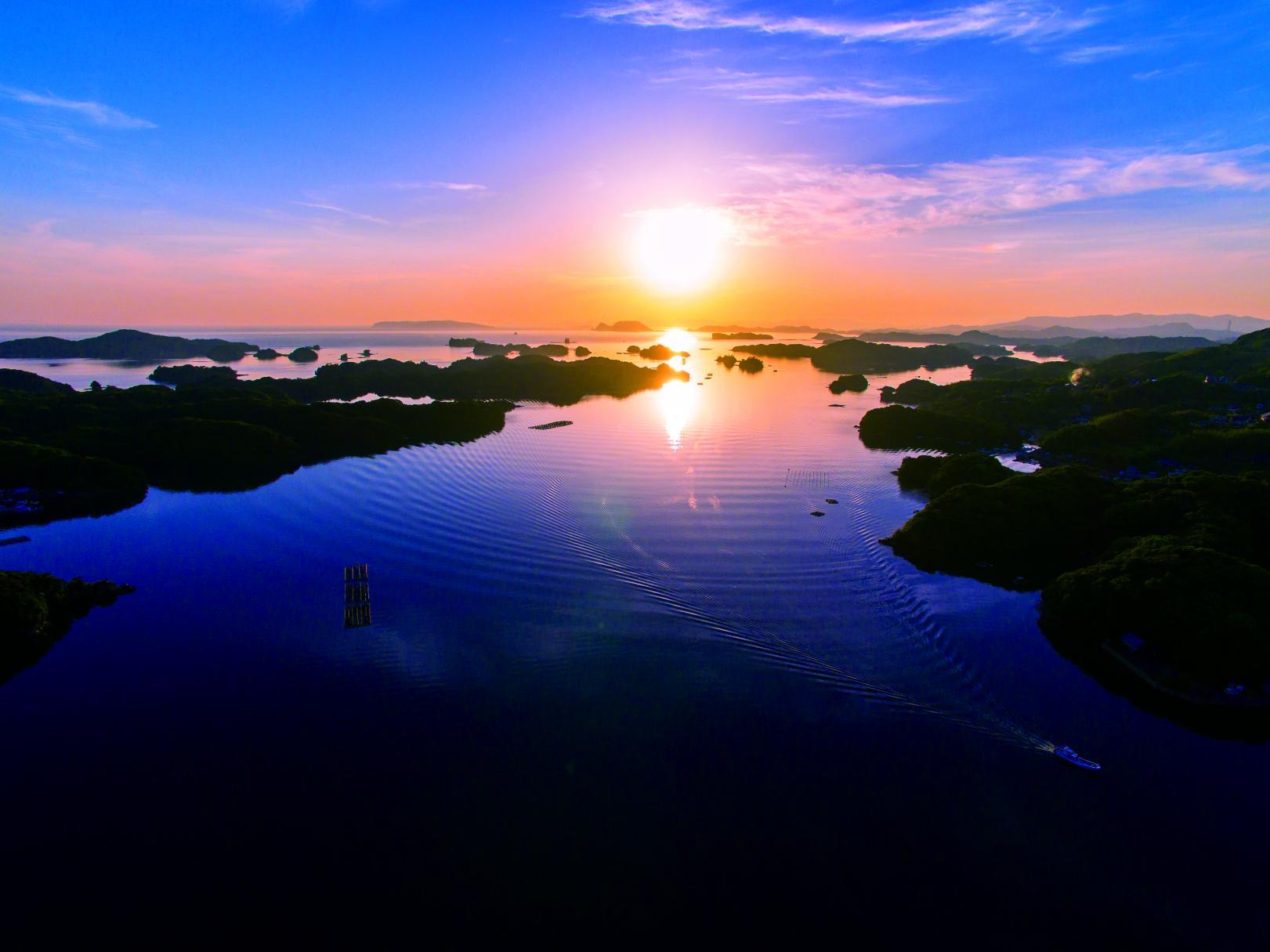 九十九島と写真-1