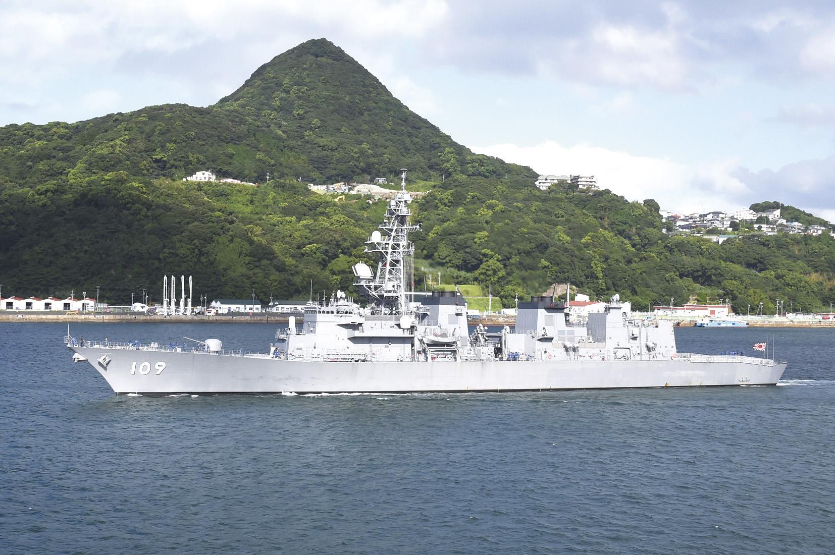 海上自衛隊 護衛艦ありあけ-1