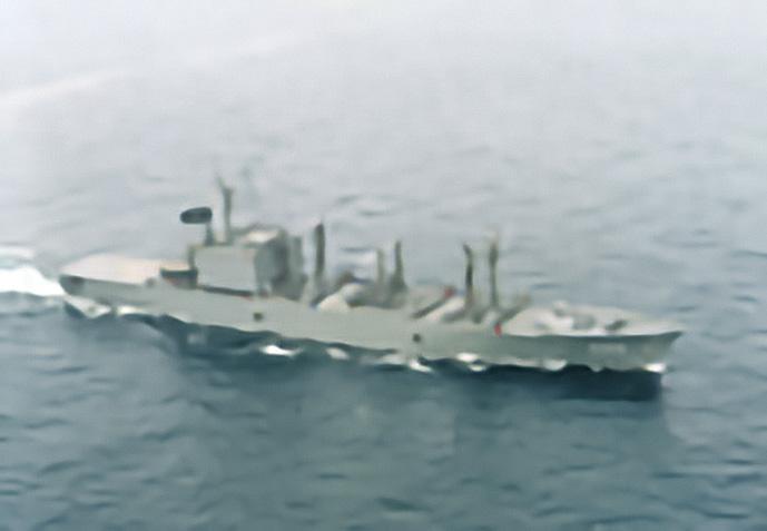 海上自衛隊 補給艦はまな-1