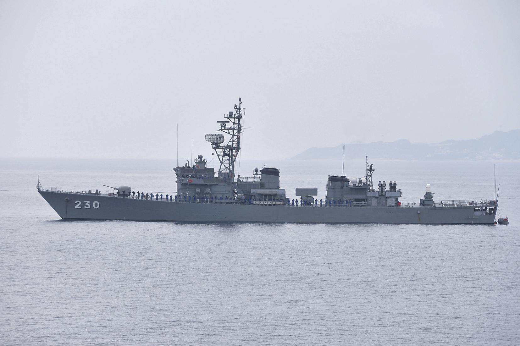海上自衛隊 護衛艦じんつう-1