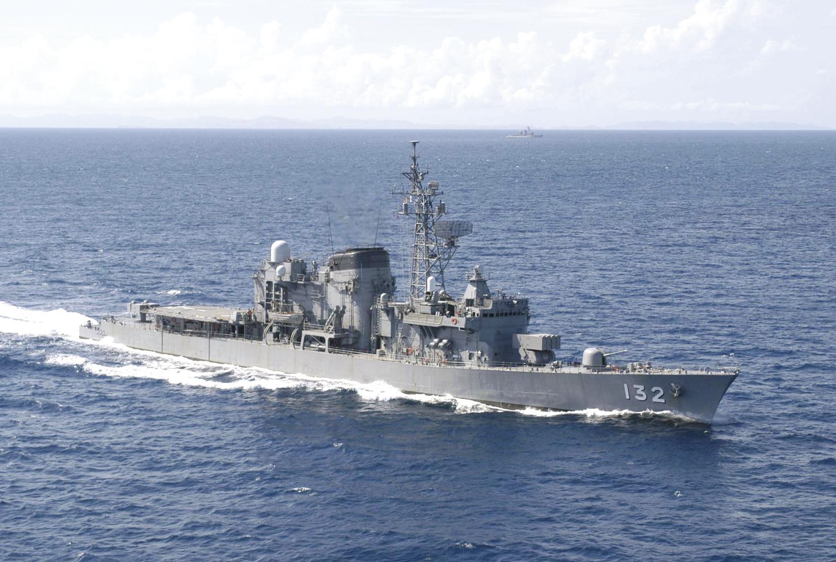海上自衛隊 護衛艦あさゆき-1