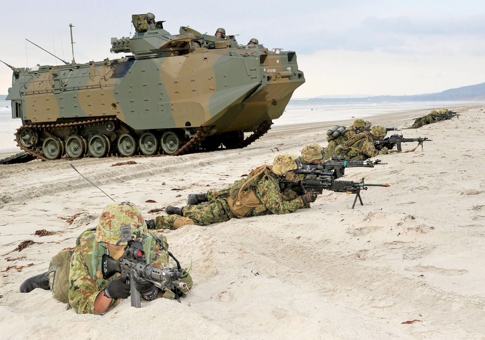 陸上自衛隊 水陸機動団-1