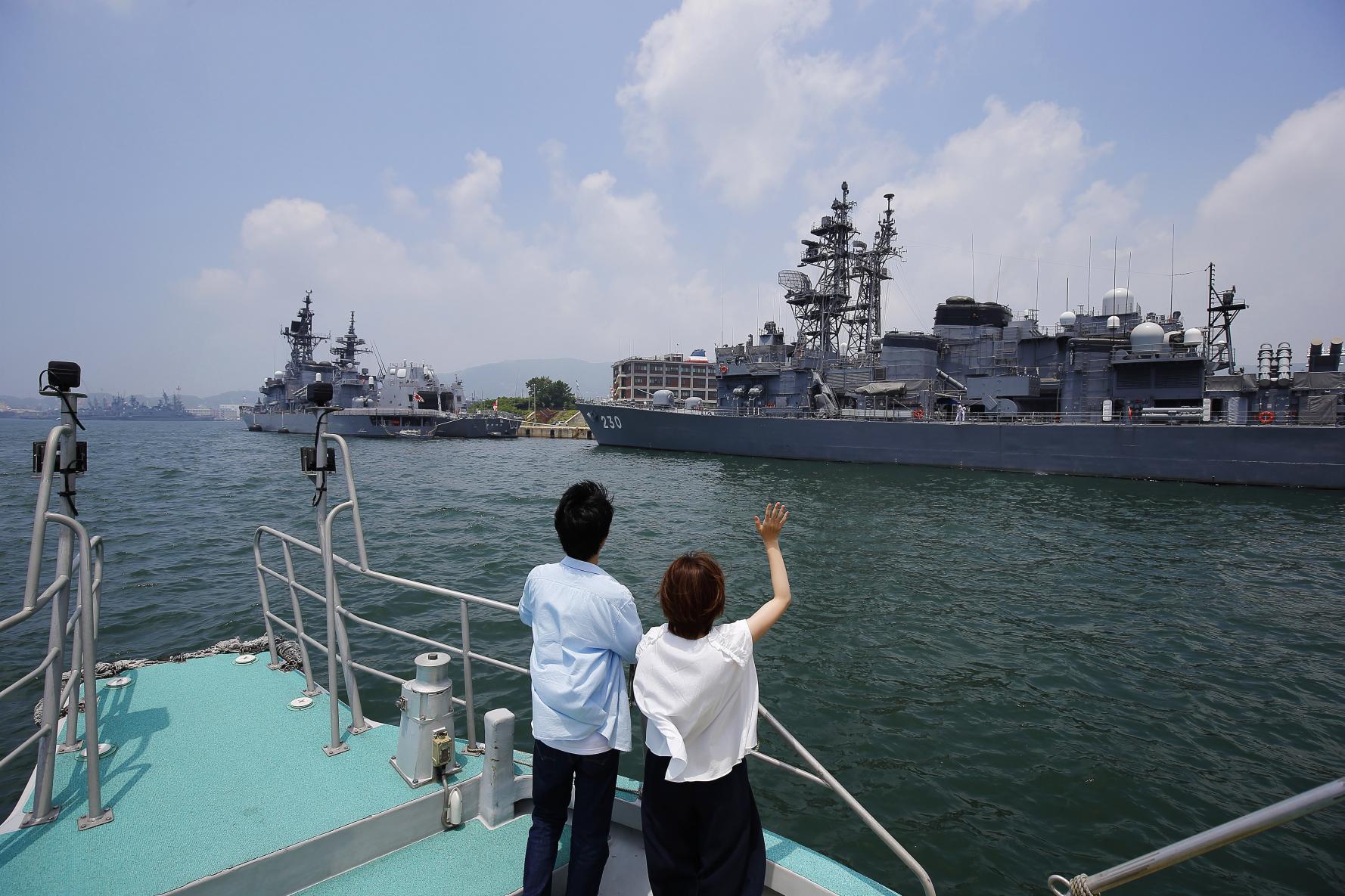 海風を感じる SASEBO軍港クルーズ-1