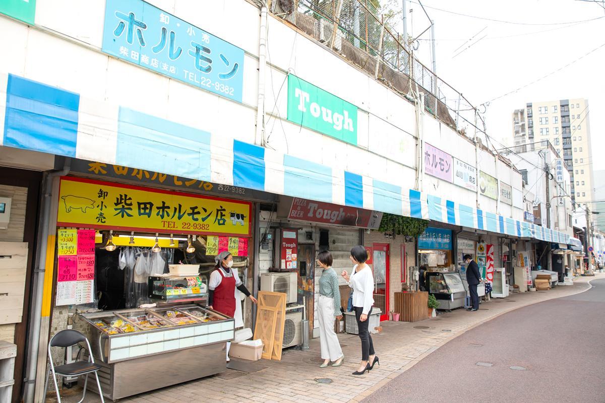 戸尾市場街・とんねる横丁-1