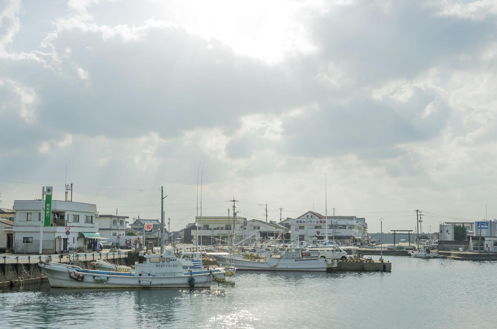 【2日目】朝の海辺を散歩-1