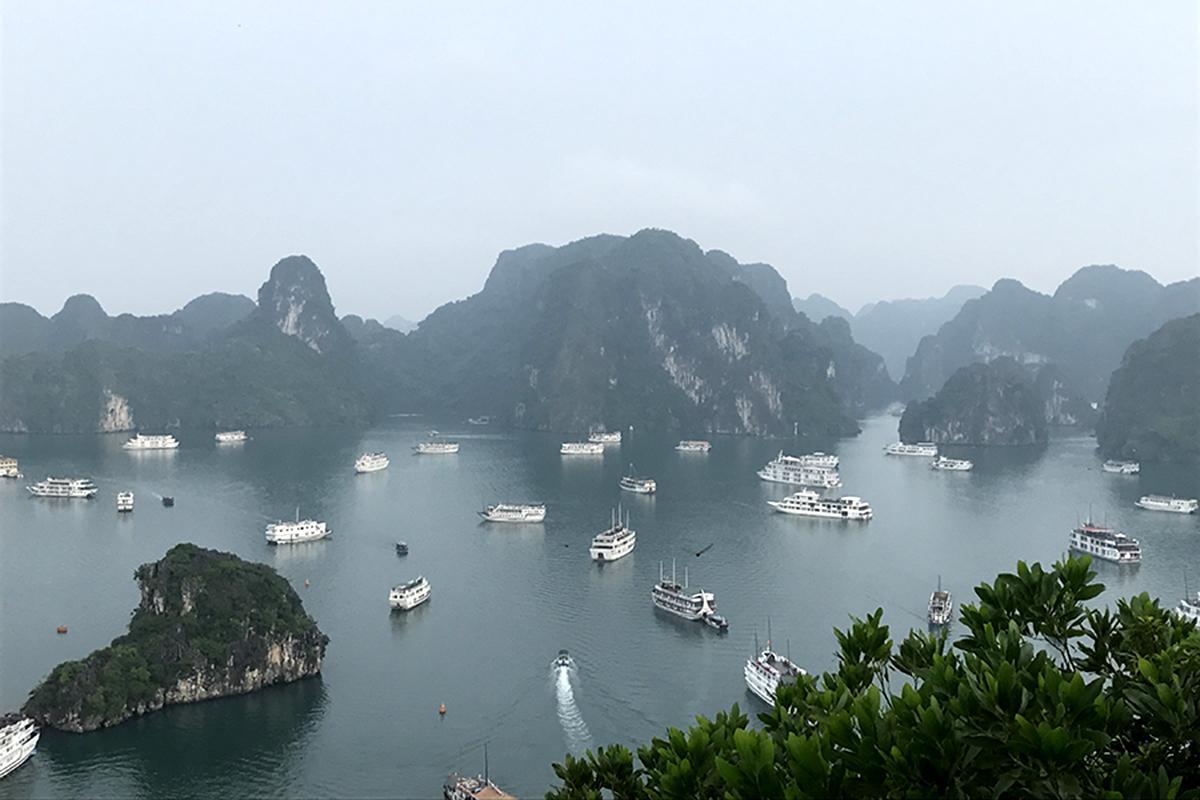 ハロン湾(ベトナム)-1