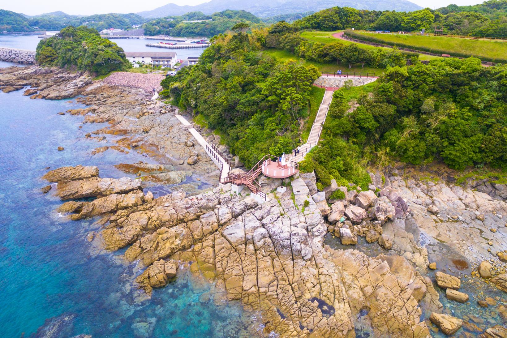 日本本土最西端から見える海の絶景-1