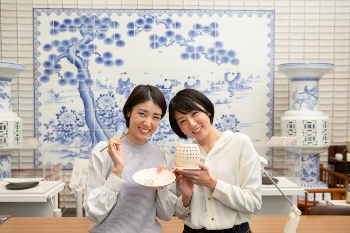 400年の歴史を誇る三川内焼 伝統の絵付け体験に挑戦!-3