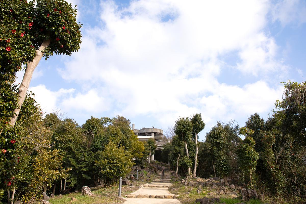 夕景を見るならここ「石岳展望台」-2