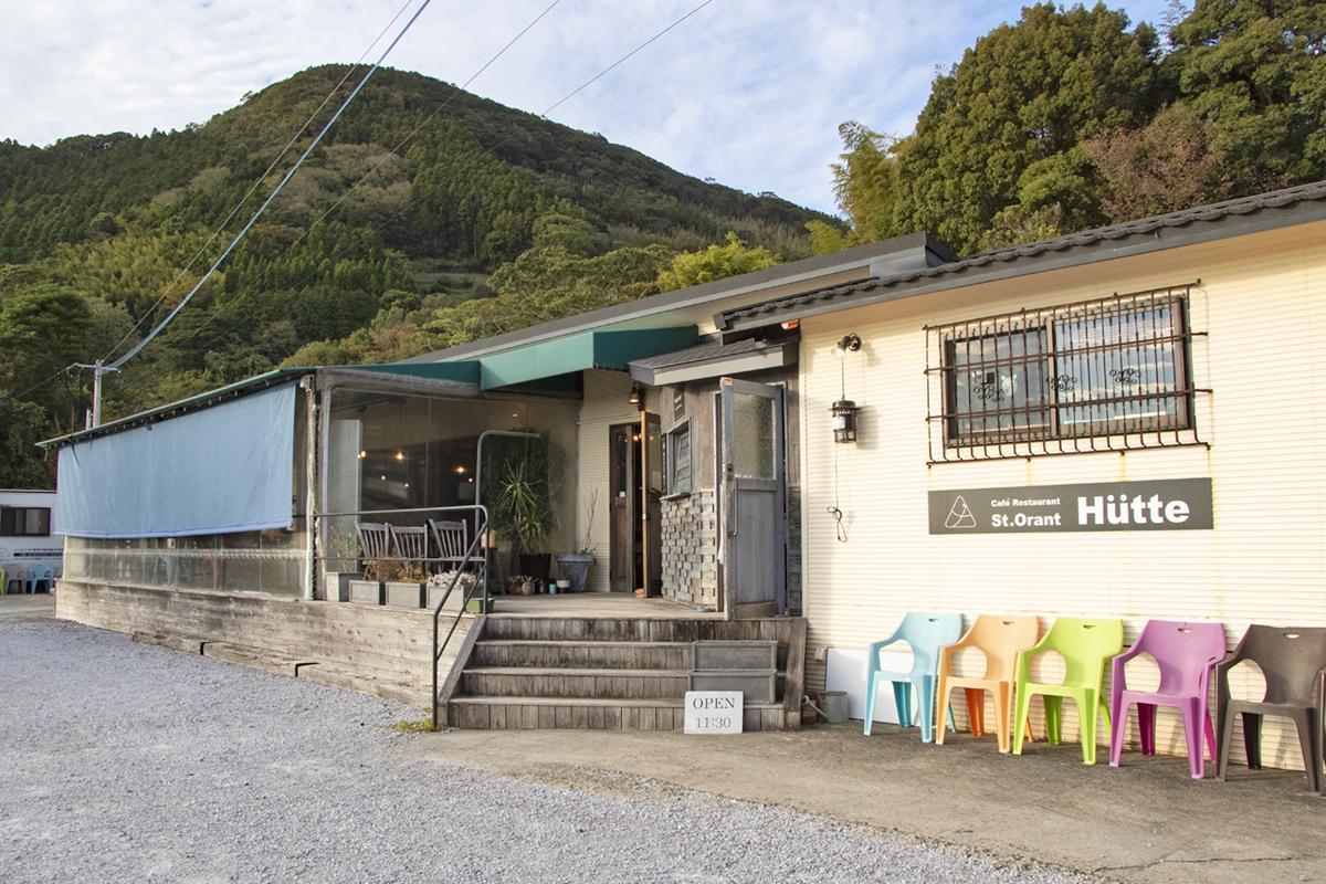 とっておきの空間を楽しむ 山の上の隠れ家イタリアン「Hütte(ヒュッテ)」-2