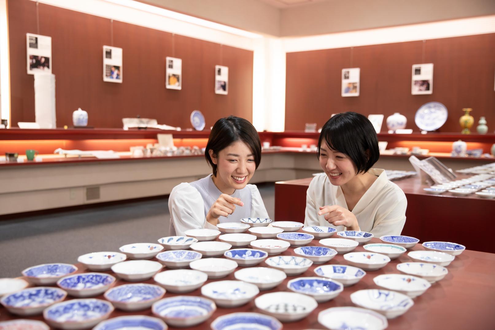 お気に入りの一枚を見つけよう♪「三川内焼」のかわいい唐子絵&豆皿-2
