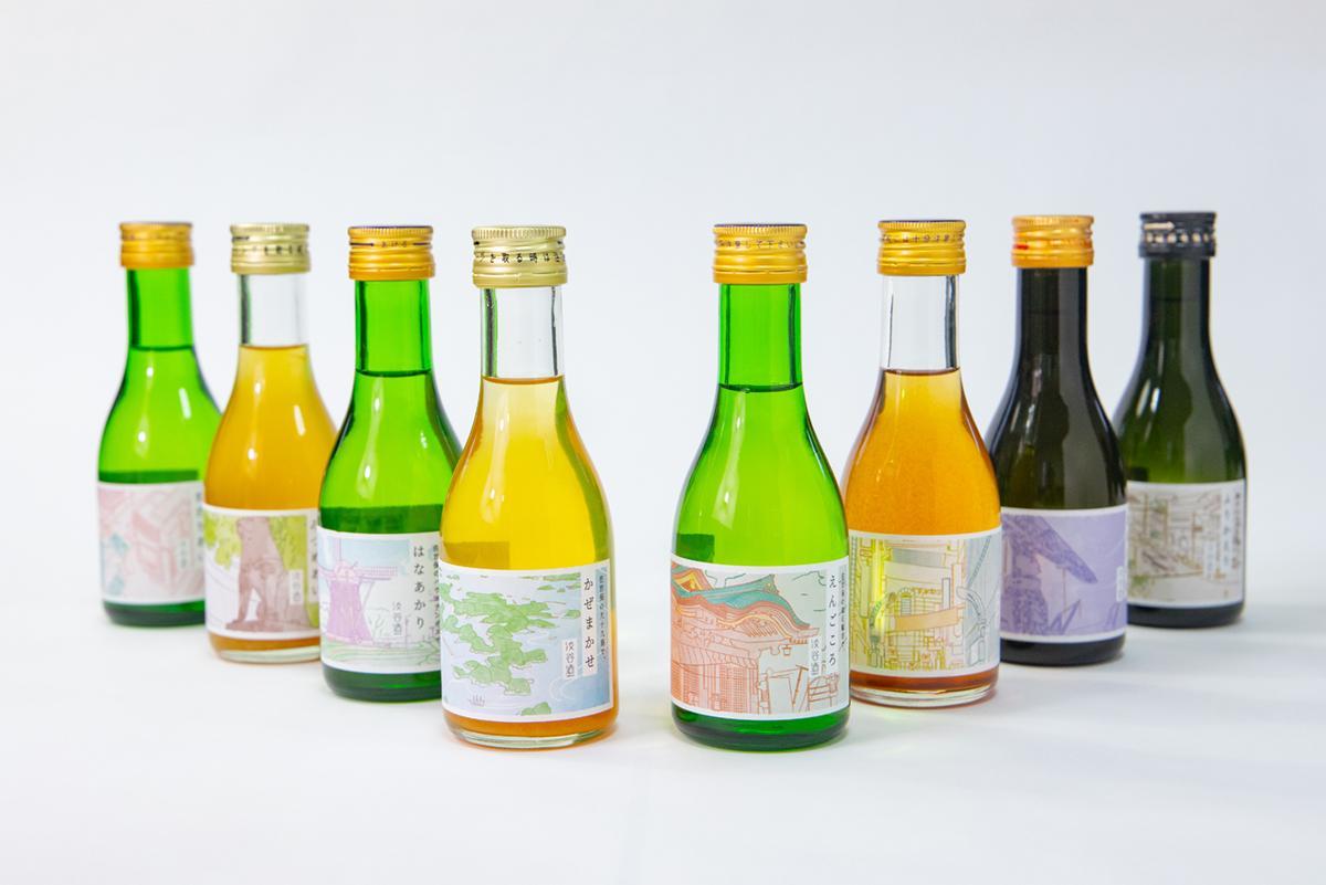 会話のタネにもなるレアなお酒 「渋谷×佐世保」地域コラボラベル日本酒-0