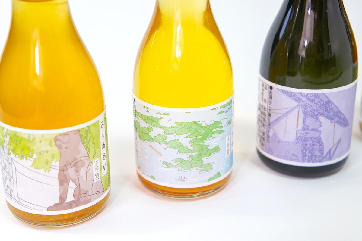 会話のタネにもなるレアなお酒 「渋谷×佐世保」地域コラボラベル日本酒-3