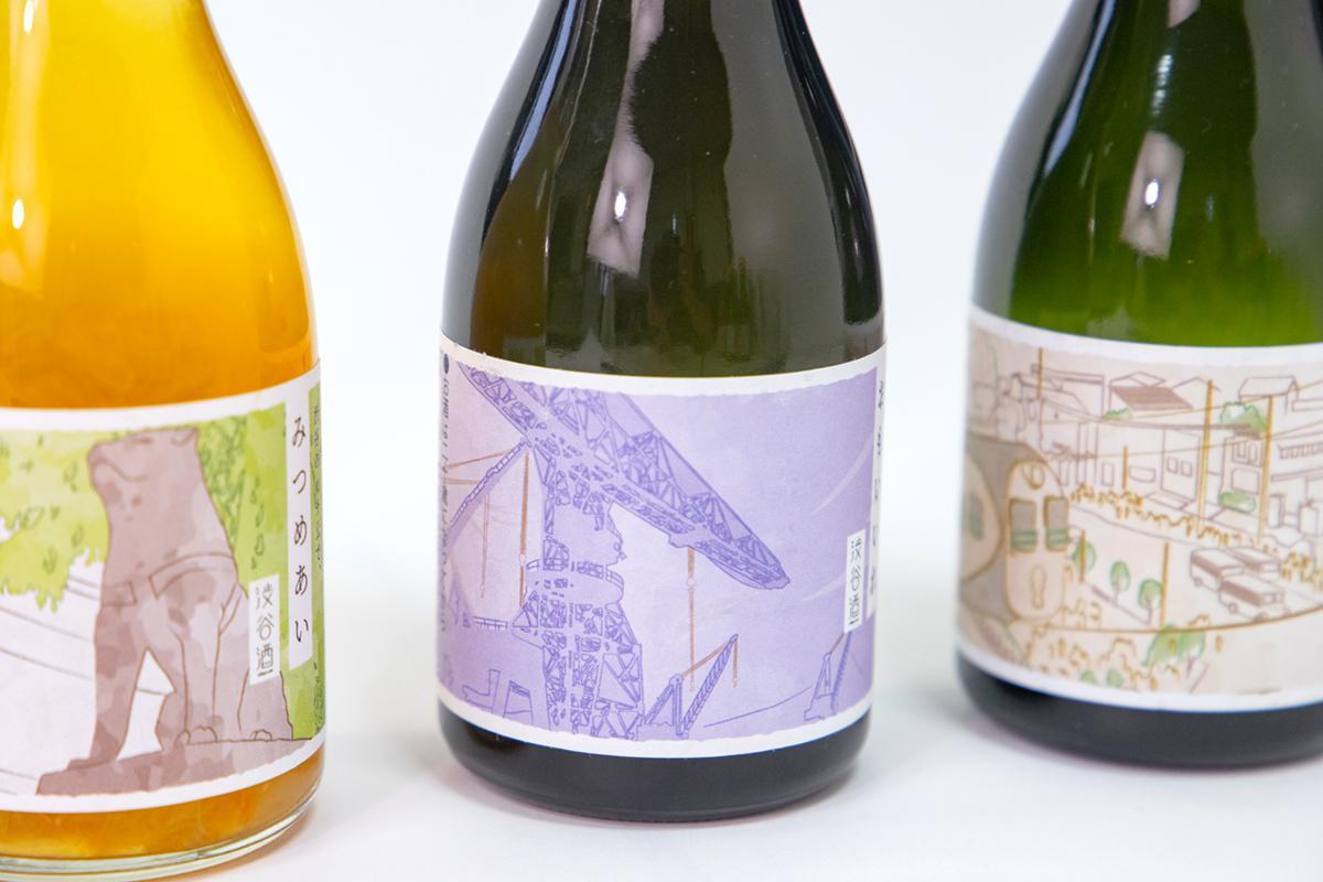 会話のタネにもなるレアなお酒 「渋谷×佐世保」地域コラボラベル日本酒-2