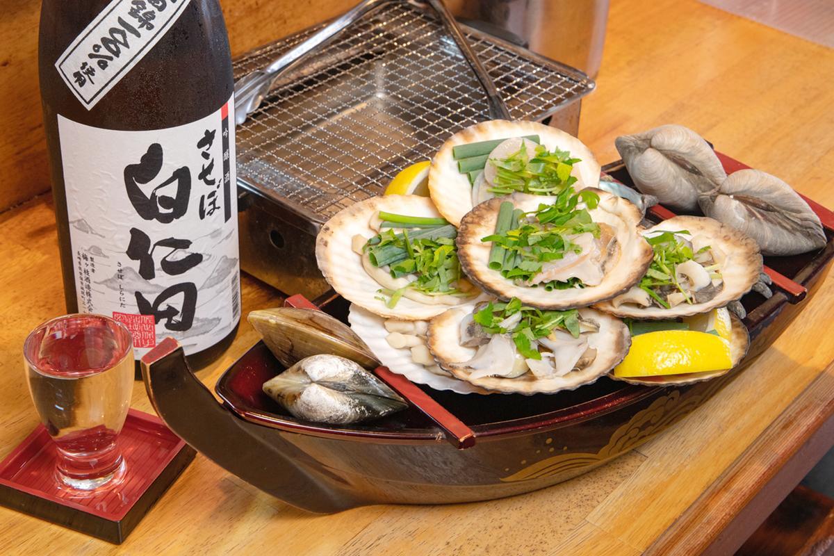 奥深〜い「貝」の世界へようこそ♪貝族料理&雑炊の店「曽根崎」へ-0