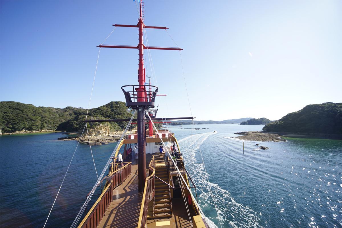 九十九島をのんびり巡る「選べる絶景クルーズ」-2