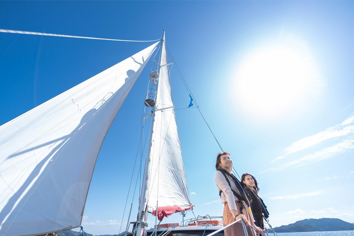 九十九島をのんびり巡る「選べる絶景クルーズ」-3
