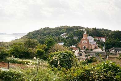 花群れる祈りの島、黒島「黒島の集落」-0