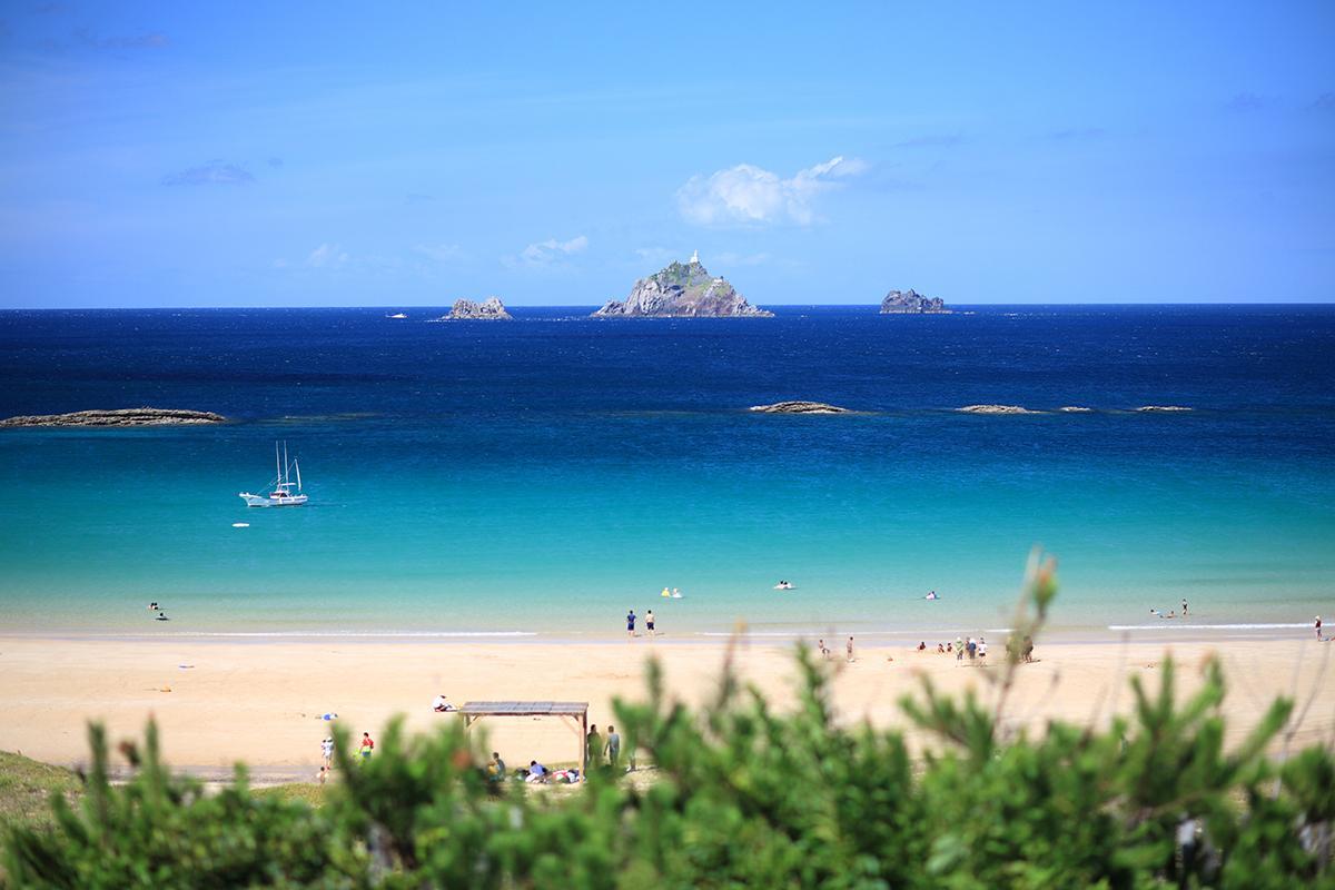 海外リゾート気分!?宇久・小値賀のプライベート感たっぷりな島ビーチへ-1