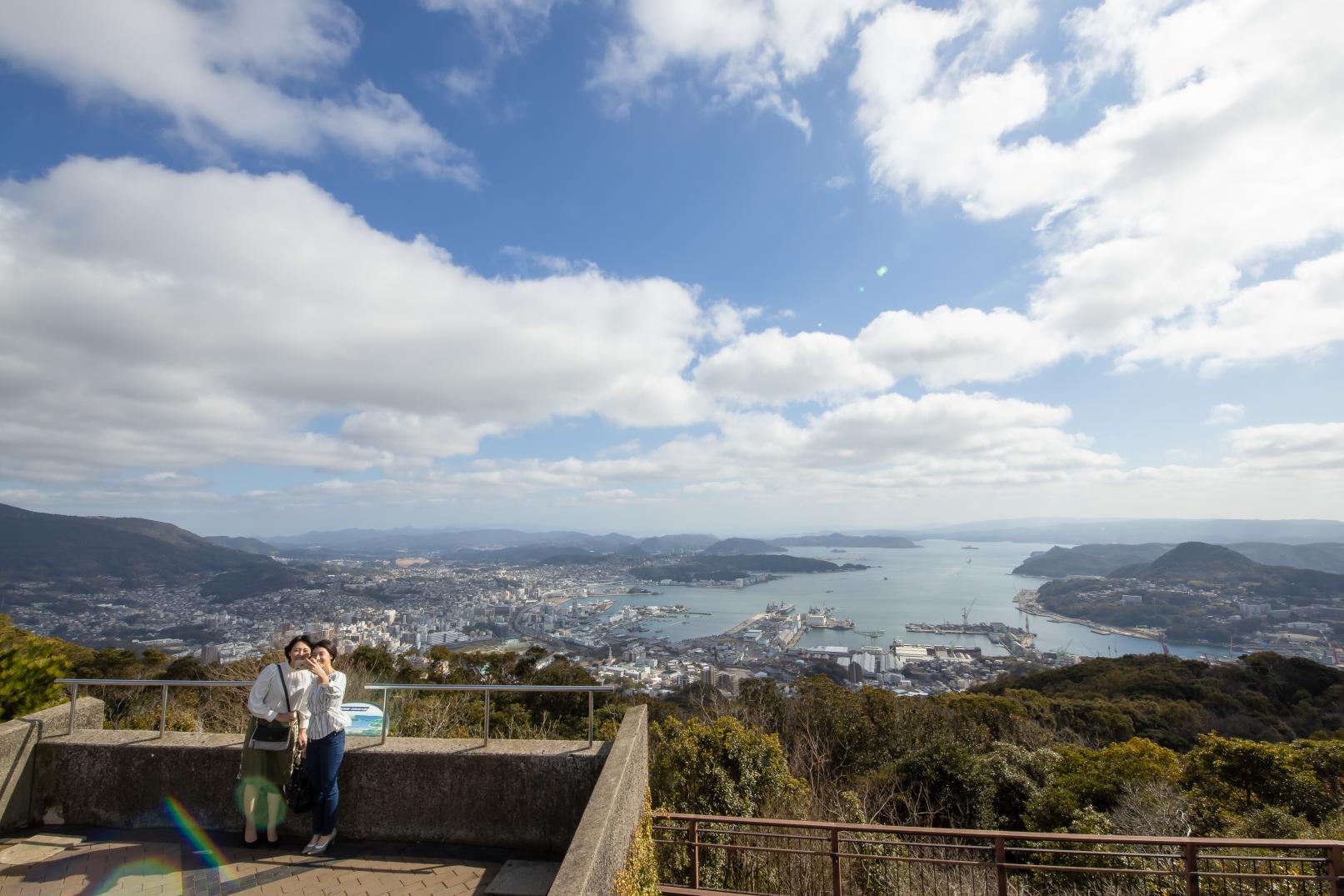 タクシープラン 港まち佐世保を弓張岳展望台から眺めるコース-1