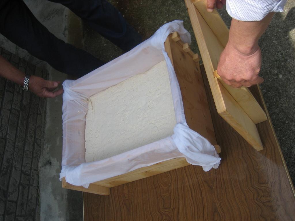 【黒島】豆腐作り体験-1