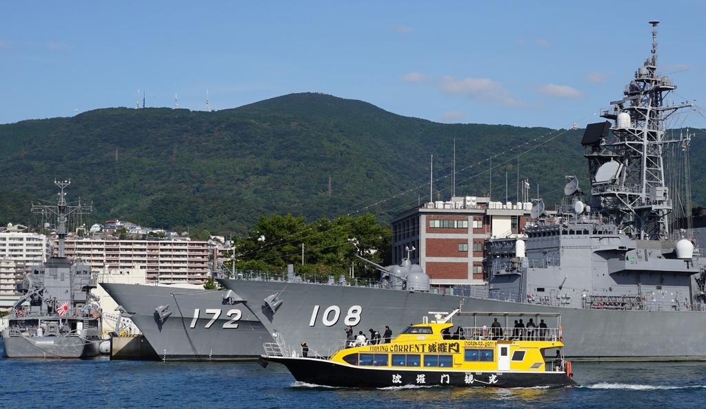 【休止中】SASEBO軍港クルーズ-1