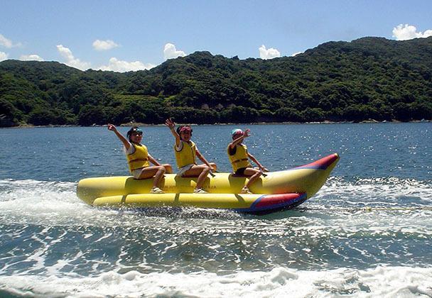 バナナボート体験-1