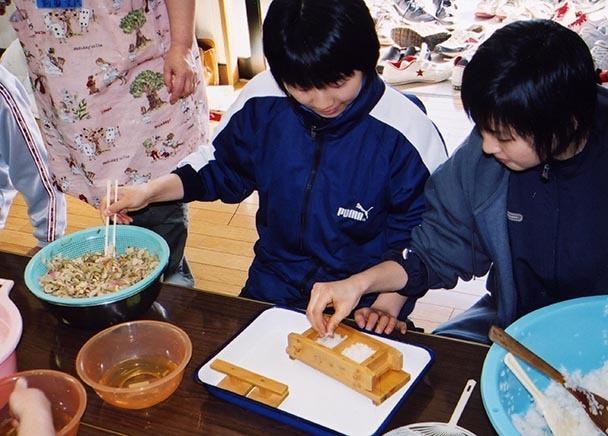 押し寿司作り-1