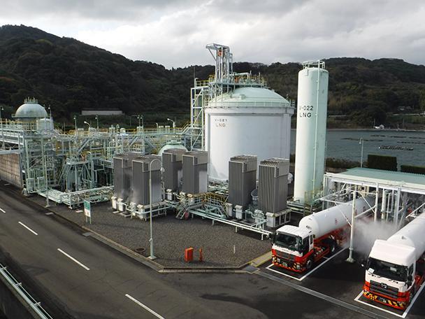 都市ガス製造工場の見学-1