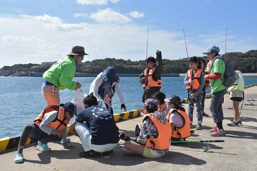 【宇久島】波止場釣り体験-0