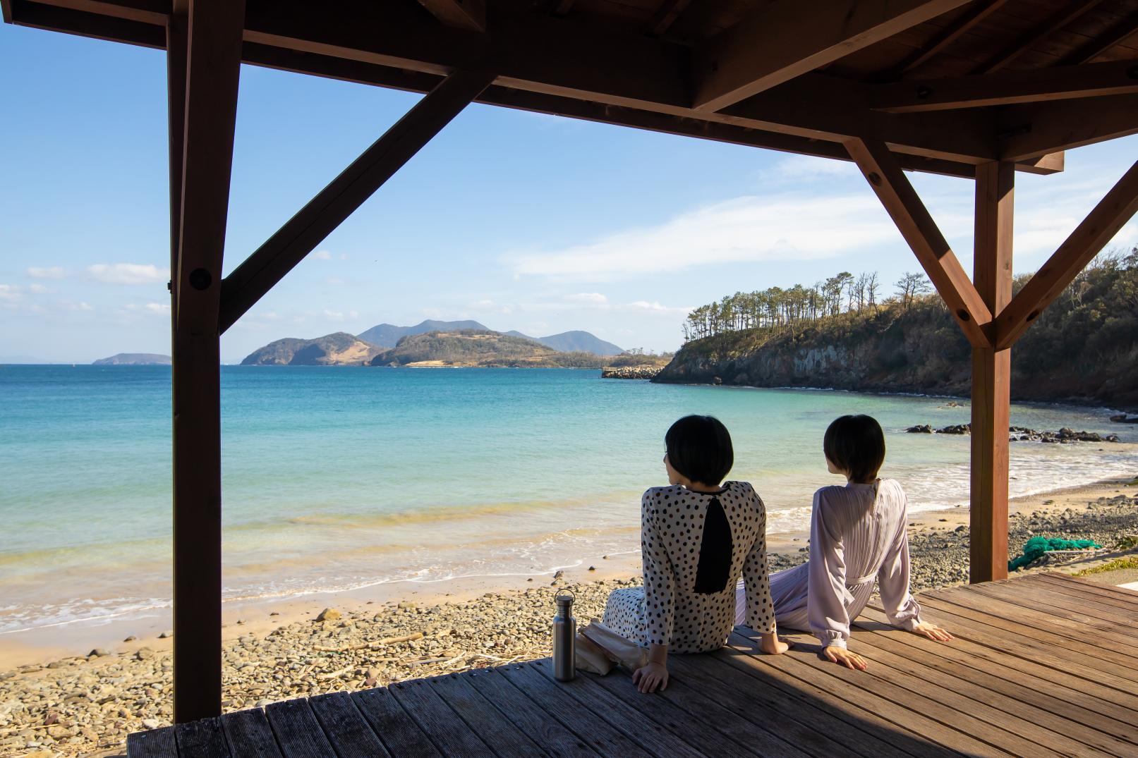 柿の浜海水浴場-1