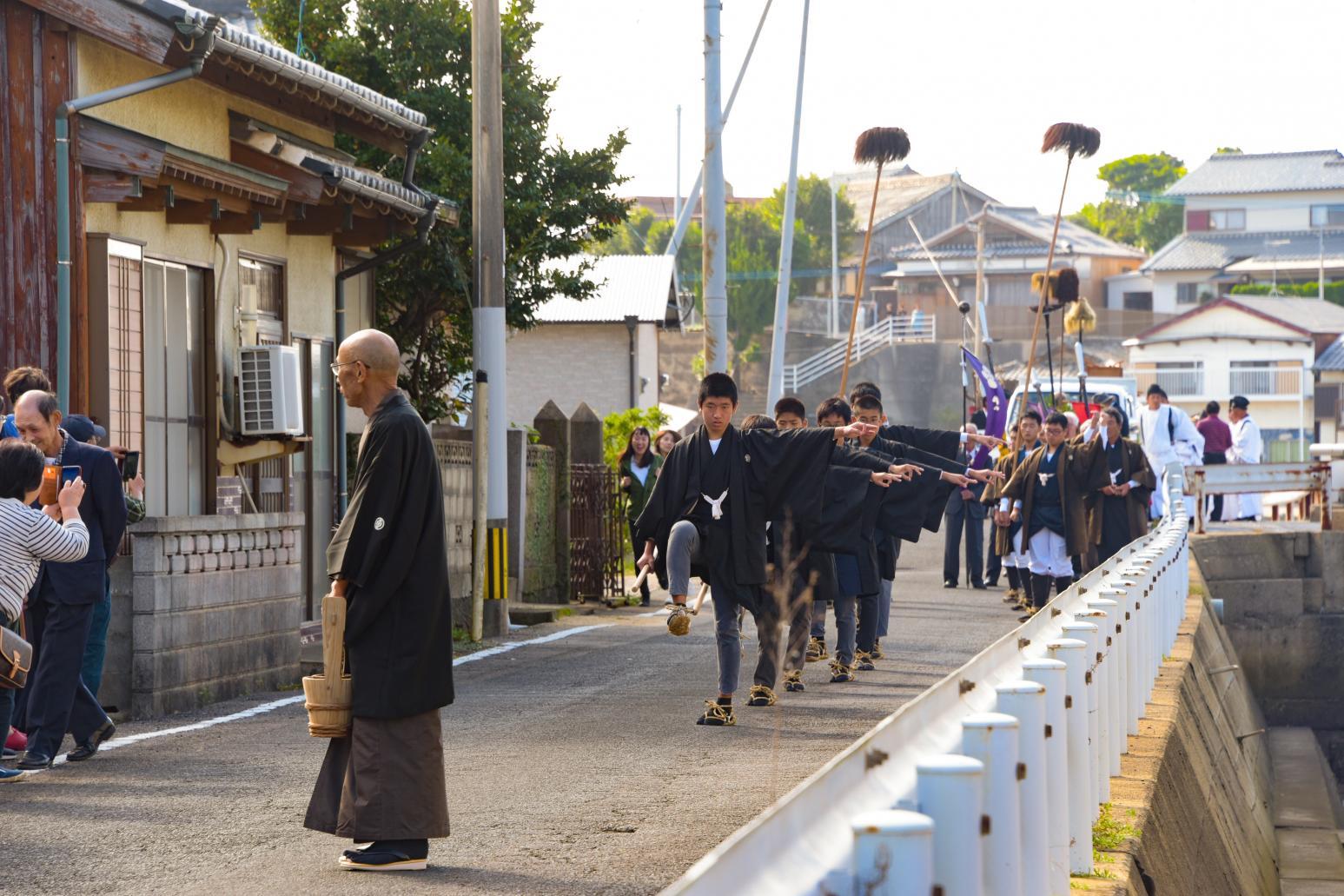【宇久島】宇久島神社例大祭(しゃぐま棒引き)-1