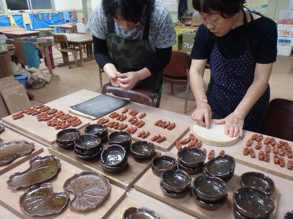 【小値賀】赤土焼き物体験-1