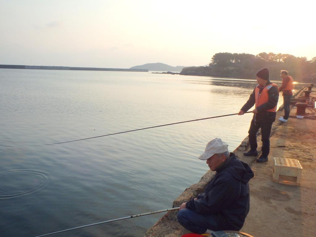【小値賀】初めての魚釣り体験-1